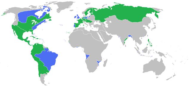 Map 7 Years War