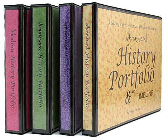 Ancient, Medieval, Renaissance, and Modern History Portfolios