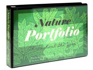 Nature Portfolio in 3-ring Binder